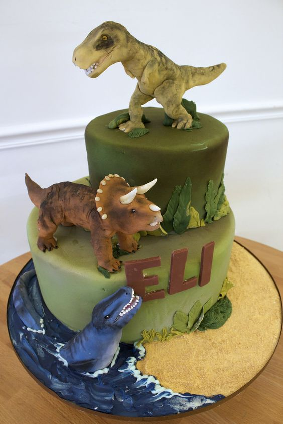 dinosaur cake ideas 1
