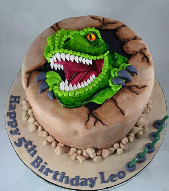 dinosaur cake ideas 11