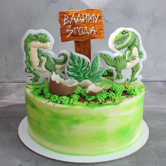 dinosaur cake ideas 17