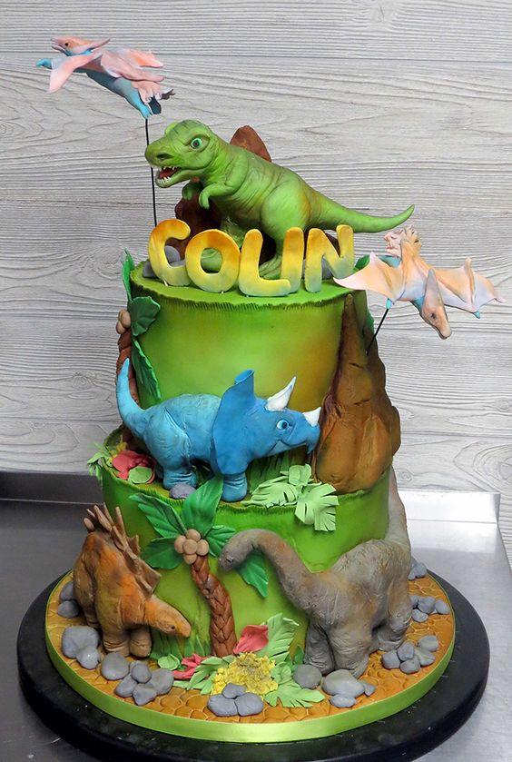 dinosaur cake ideas 18