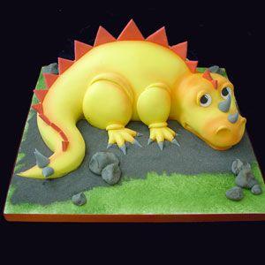 dinosaur cake ideas 3