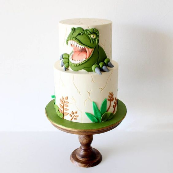 dinosaur cake ideas 4