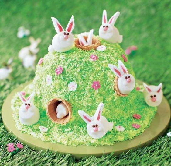 easter bunny cake 12
