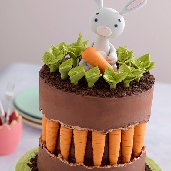 easter bunny cake 13