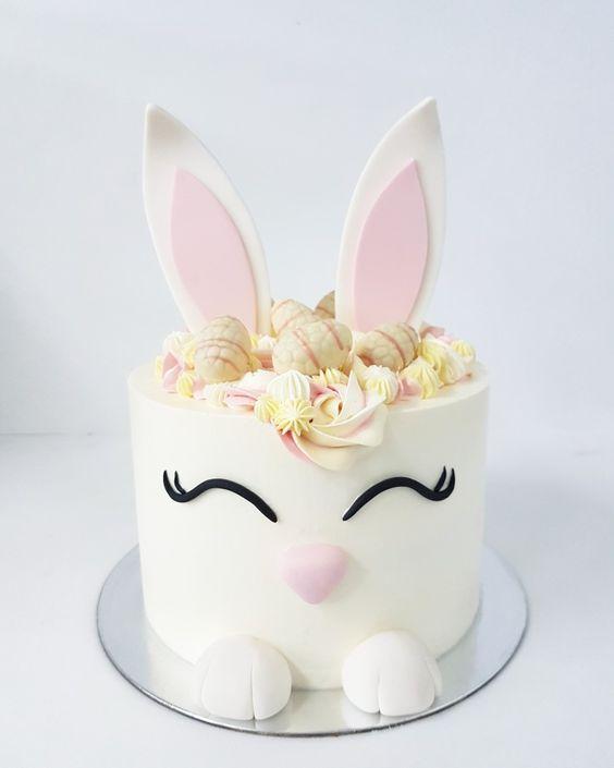 easter bunny cake 16