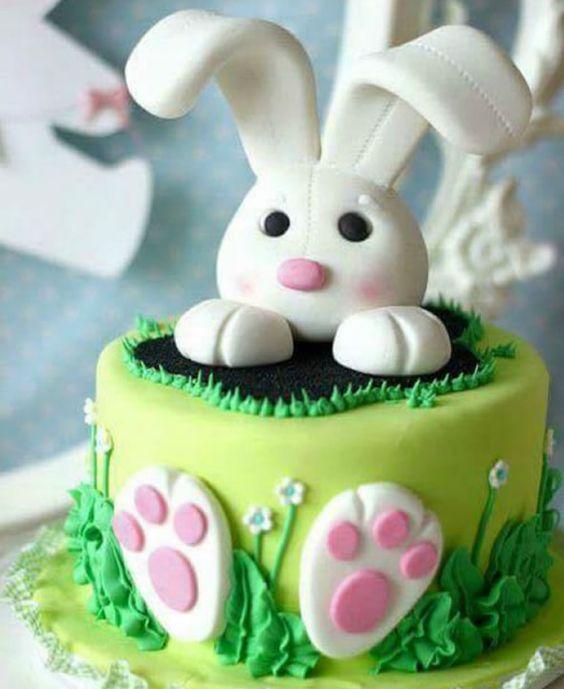 easter bunny cake 7