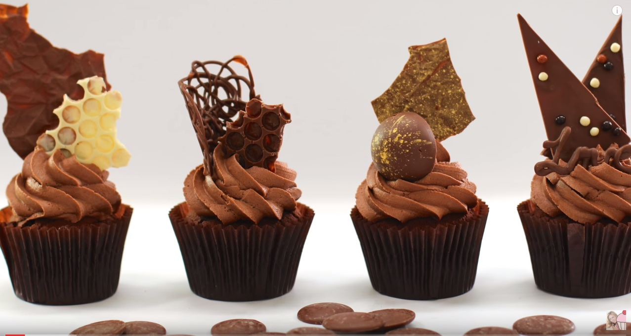 Cake Deco Mania : 7 Chocolate Decorations   Shards, Spheres, Discs and More