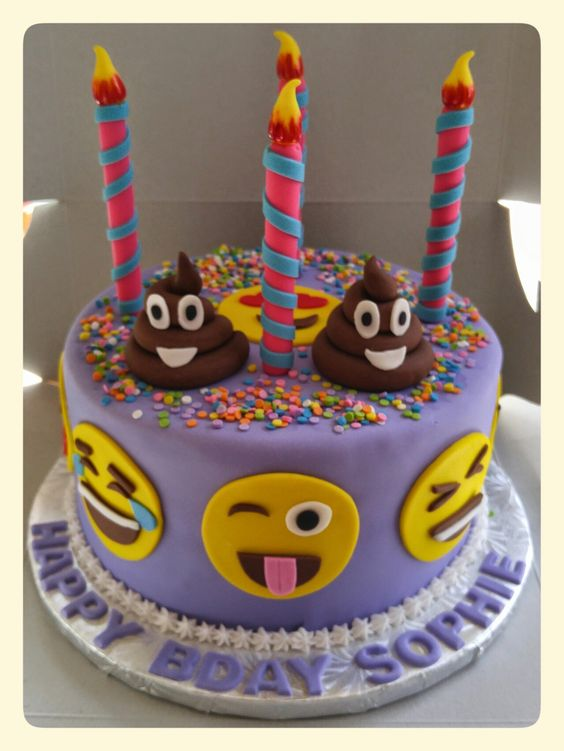 emoji cakes ideas 15