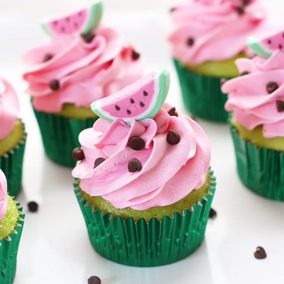 fruit inspired cupcakes 1