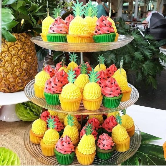 fruit inspired cupcakes 2