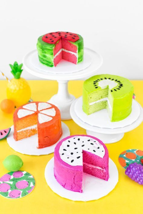fruit inspired cupcakes 9