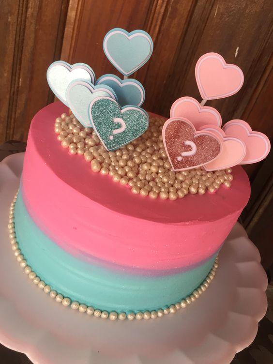 gender reveal baby cake 14