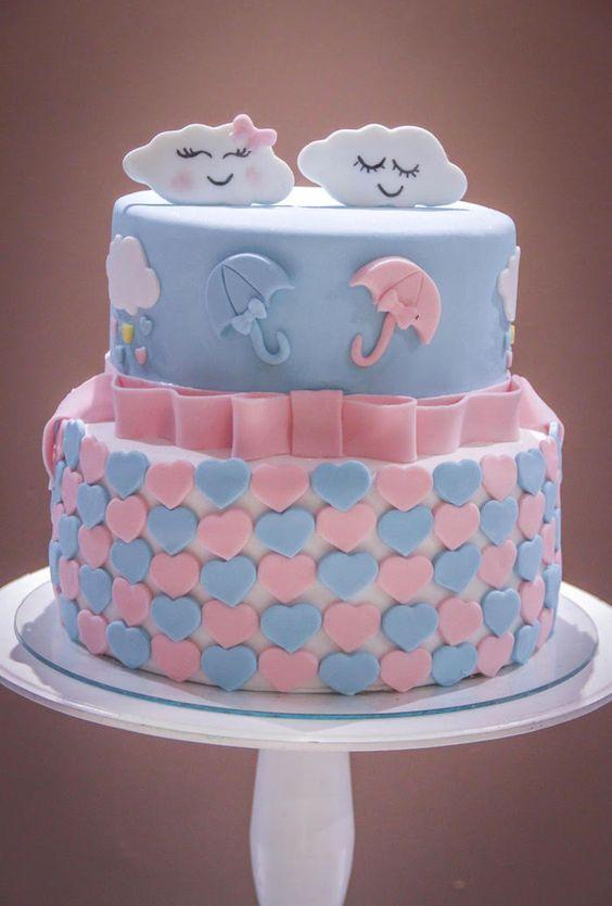 gender reveal baby cake 5