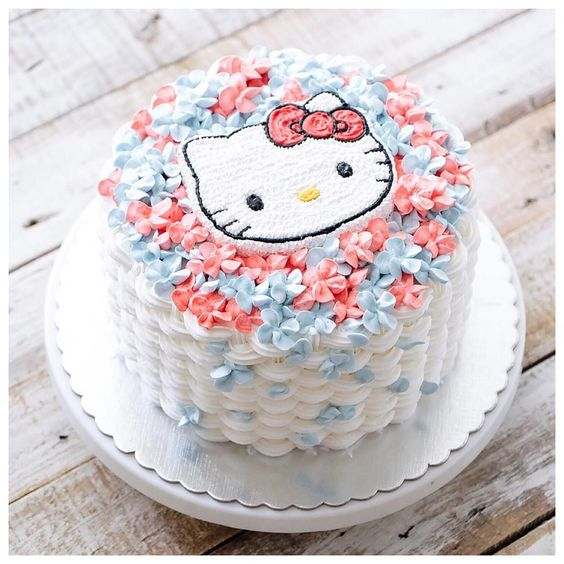 hello kitty birthday cake 1 1