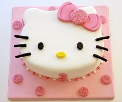 hello kitty birthday cake 10