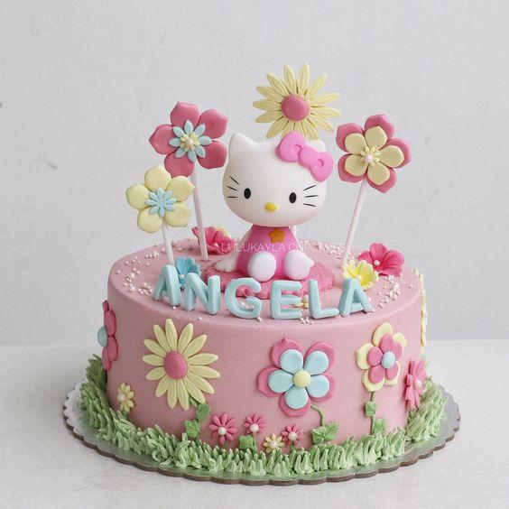 hello kitty birthday cake 11
