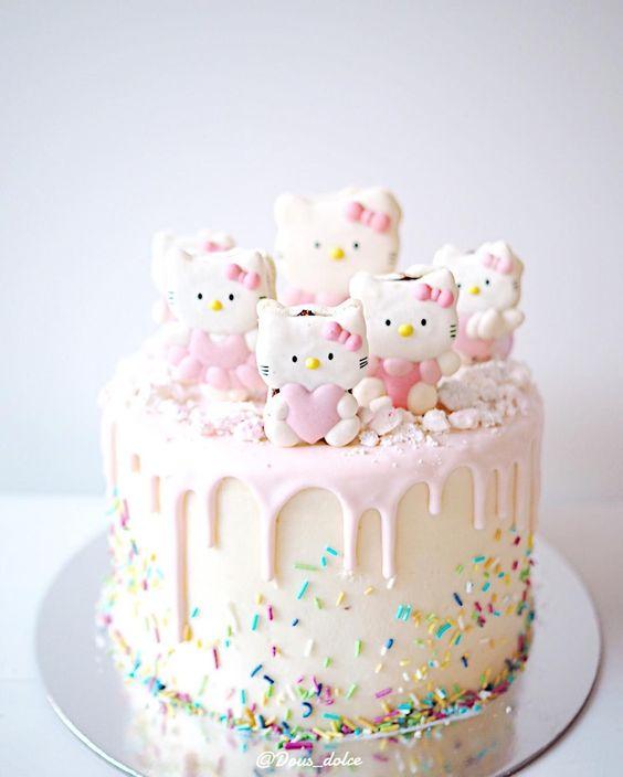 hello kitty birthday cake 12