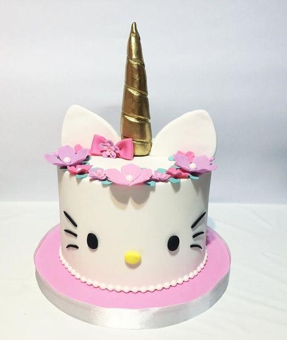 hello kitty birthday cake 15