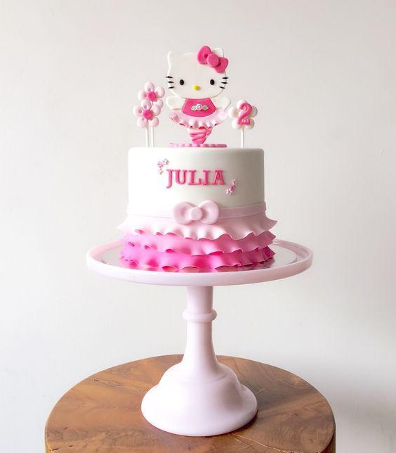 hello kitty birthday cake 3