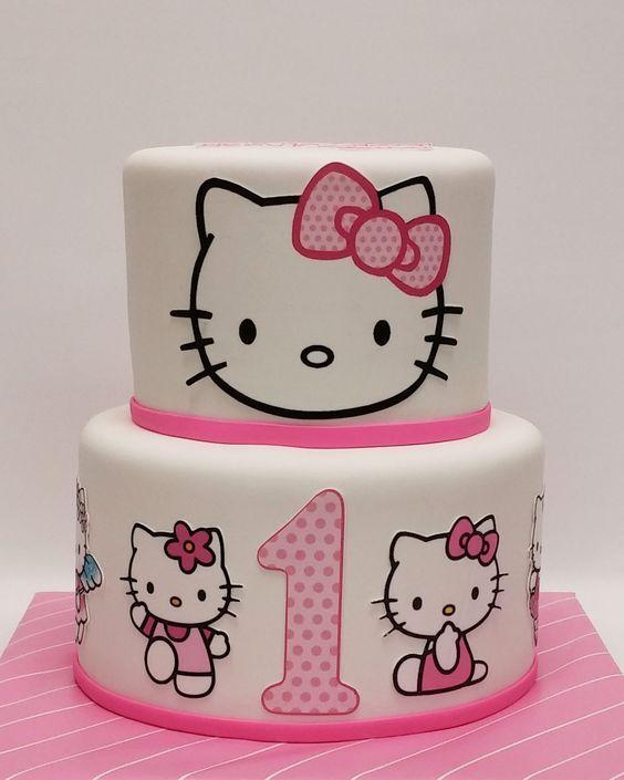 hello kitty birthday cake 4
