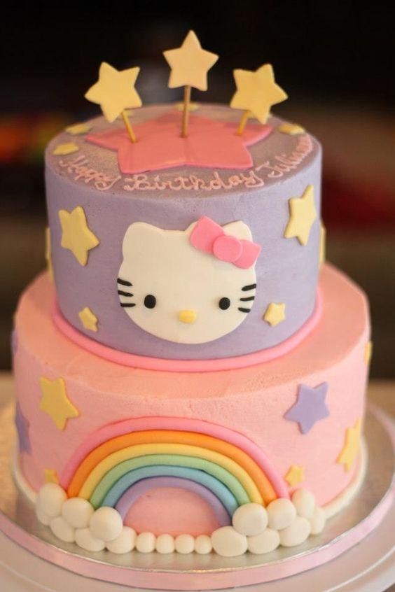 hello kitty birthday cake 5