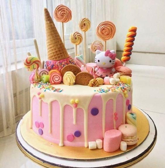 hello kitty birthday cake 6