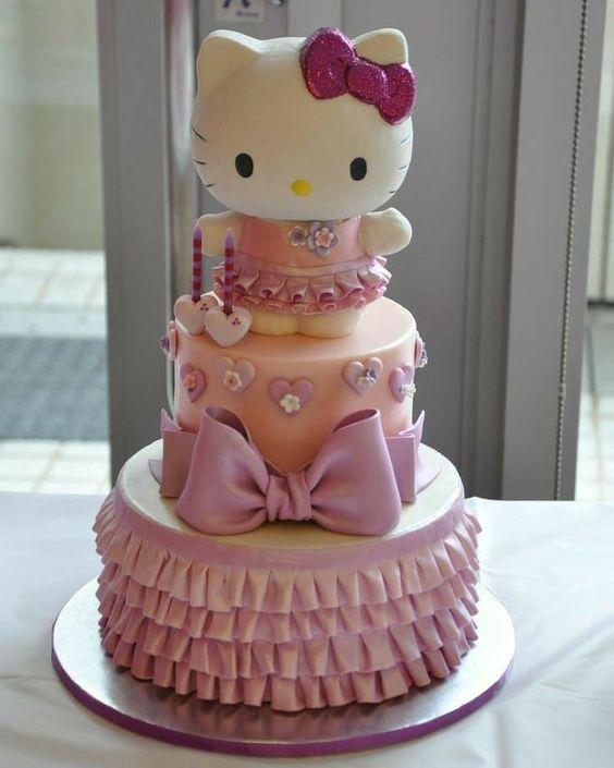 hello kitty birthday cake 9