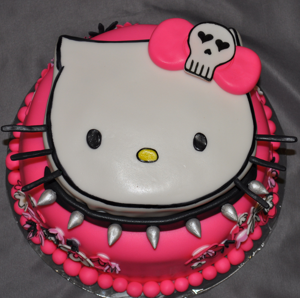 hello kitty birthday cake hello kitty birthday cake 4780