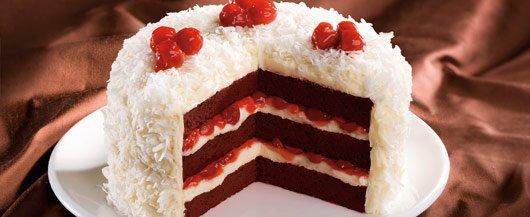 hero cherry red velvet cake