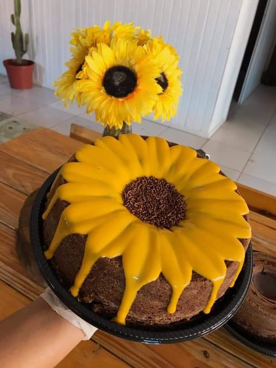 homemade birthday cake 1