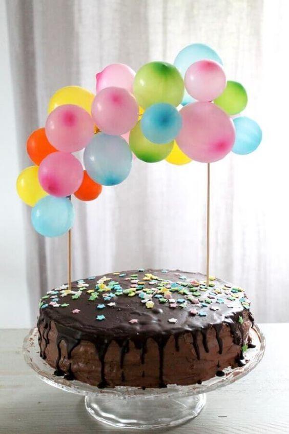 homemade birthday cake 2