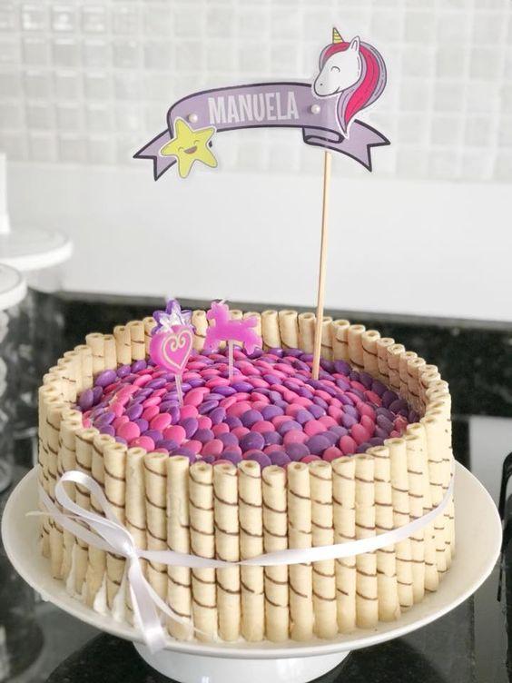 homemade birthday cake 3