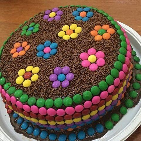 homemade birthday cake 8