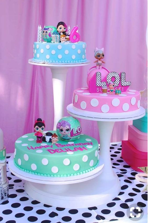 lol birthday cake 1
