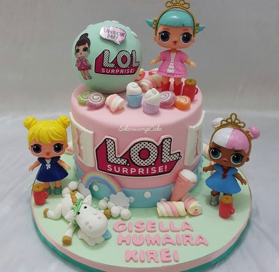 lol birthday cake 10