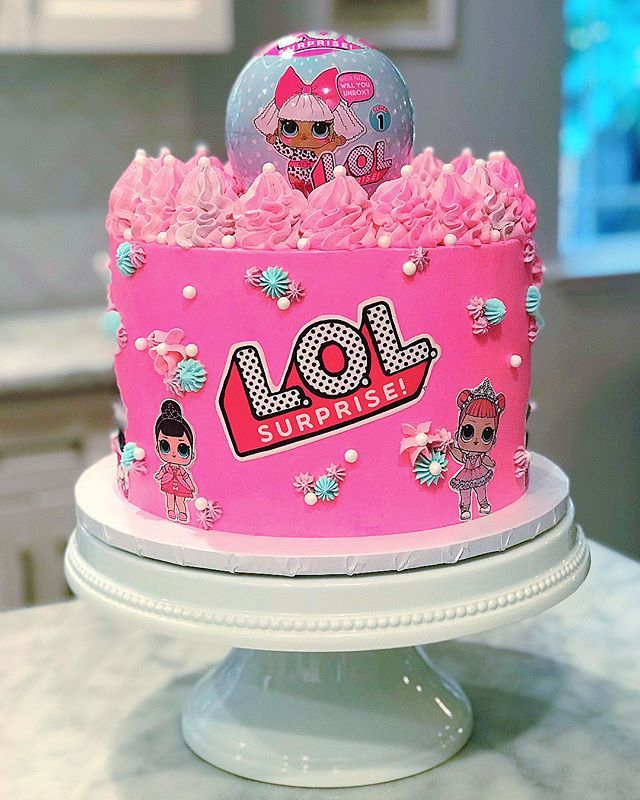 lol birthday cake 18