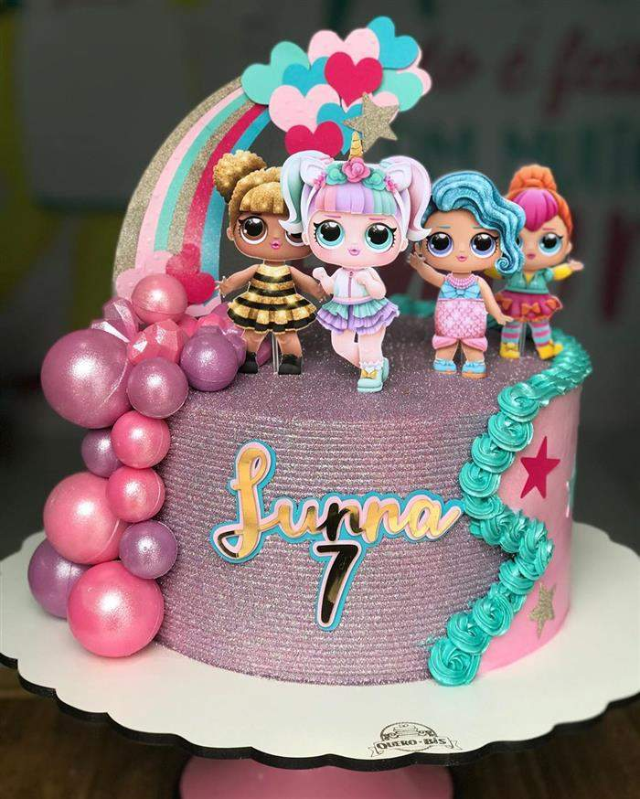 lol birthday cake 4