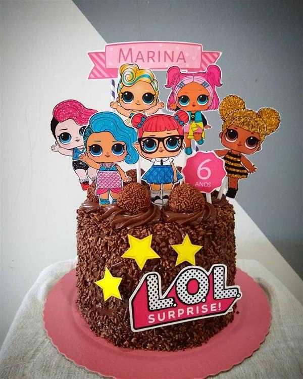 lol birthday cake 6