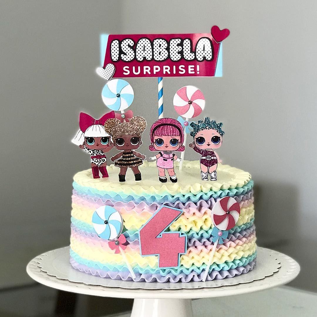 lol birthday cake 7