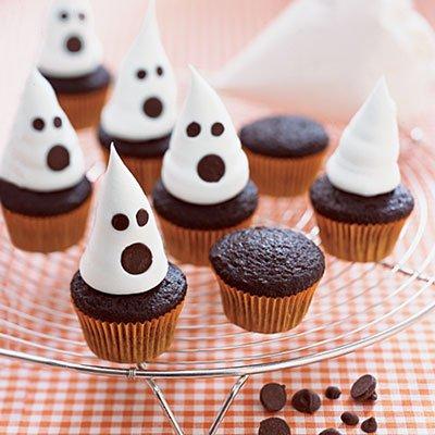 easy halloween cupcakes decorations