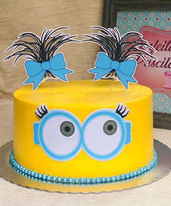 minions cakes 1