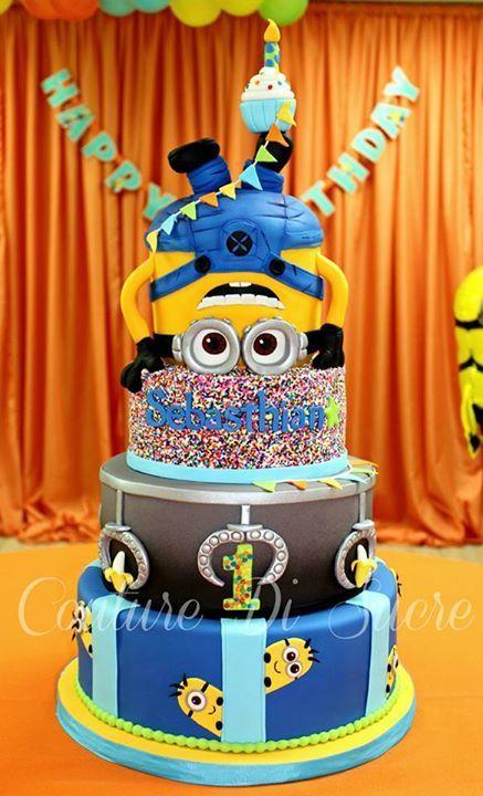 minions cakes 16