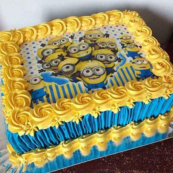 minions cakes 2