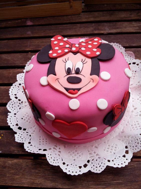 minnie cake design 1