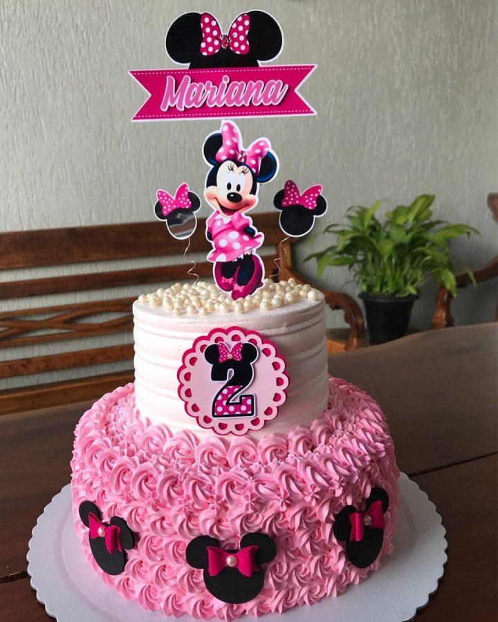 minnie cake design 11