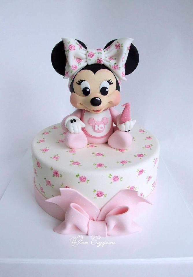 minnie cake design 12