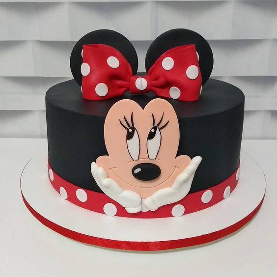 minnie cake design 2