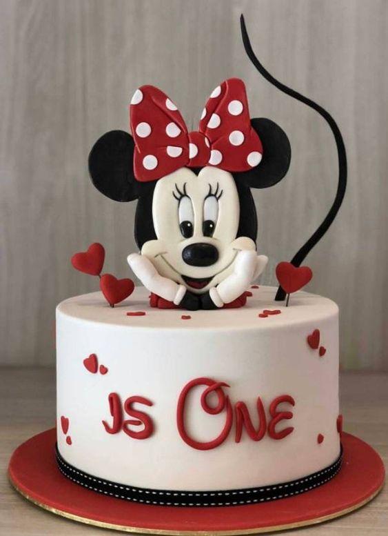 minnie cake design 3