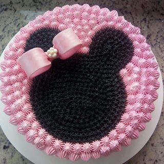 minnie cake design 4