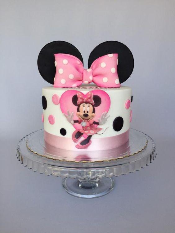 minnie cake design 5